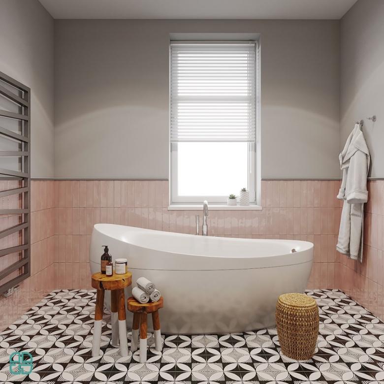 Дизайн интерьера дома ванная комната