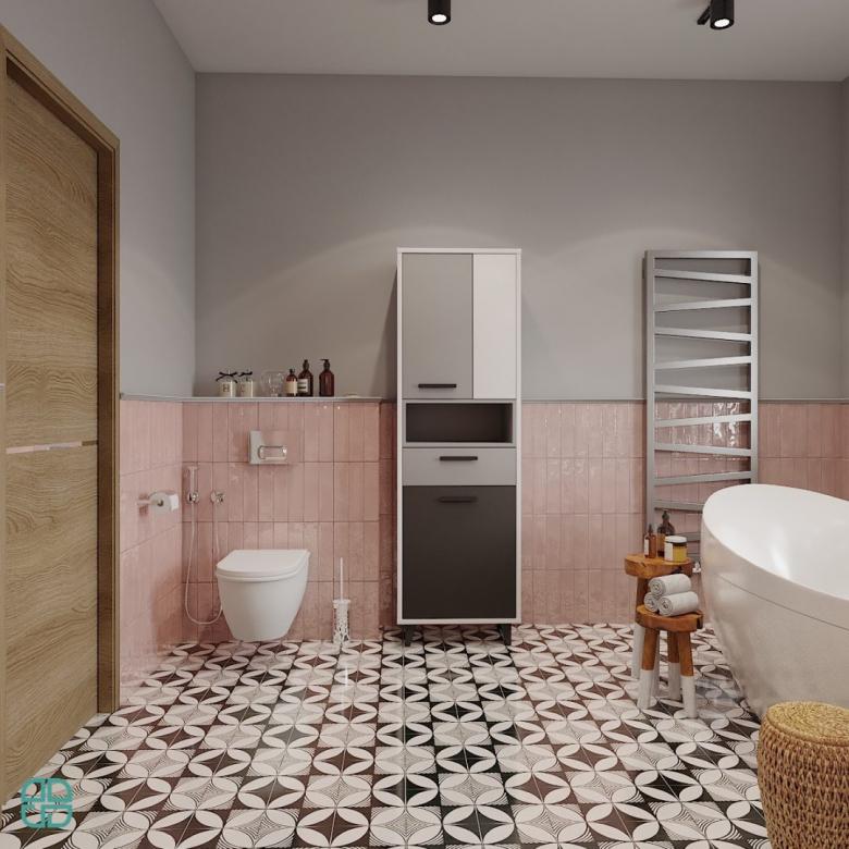 Дизайн интерьера дома туалет