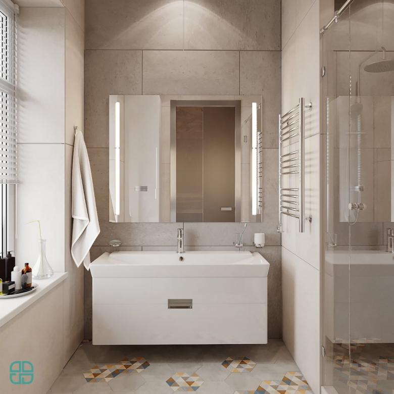 Дизайн интерьера дома санузел
