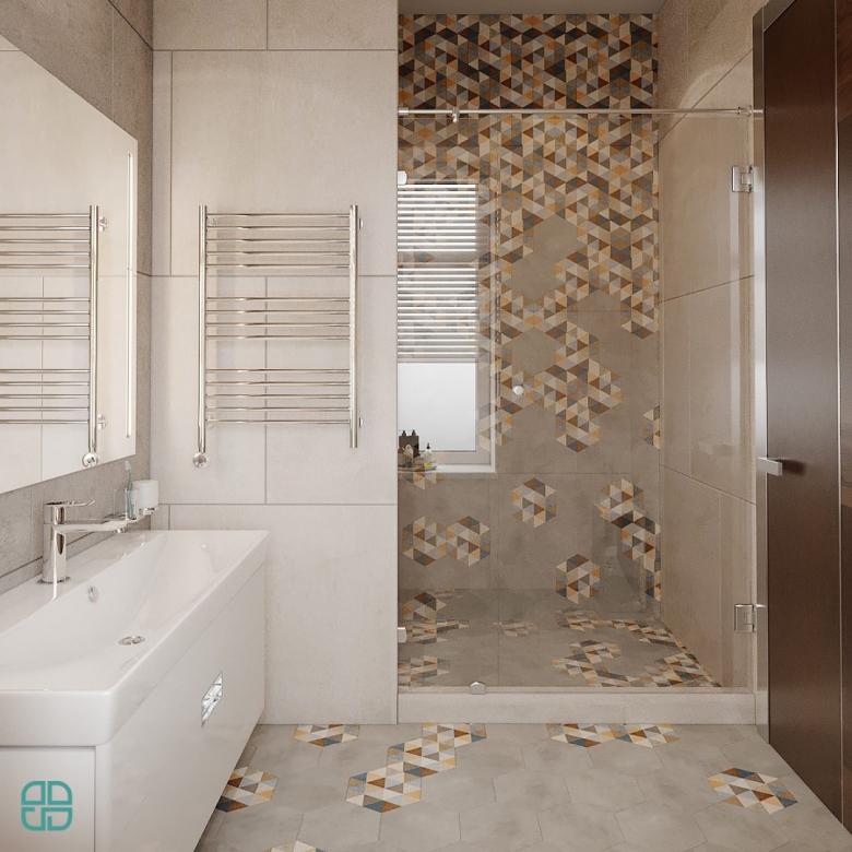 Дизайн интерьера дома душевая