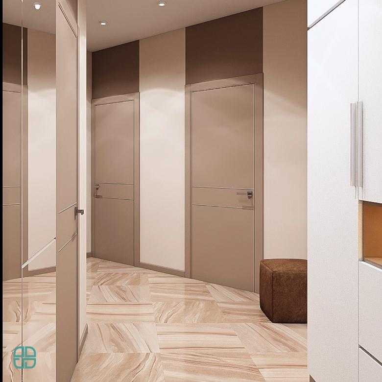 Дизайн квартиры ЖК Премьер Палас кухня