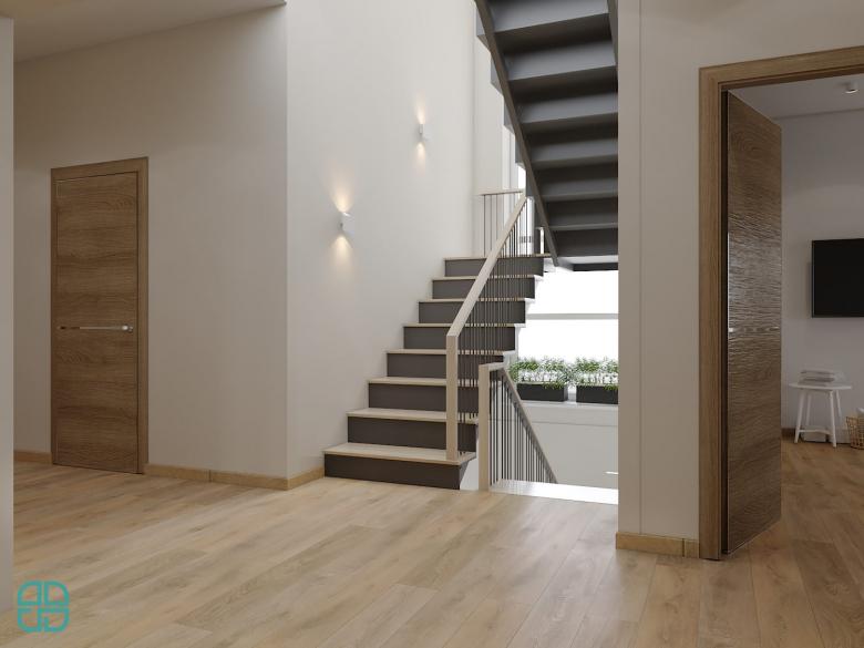 Дизайн интерьера дома коридор