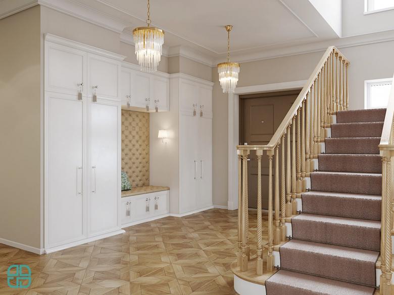 Дизайн проект дома хол