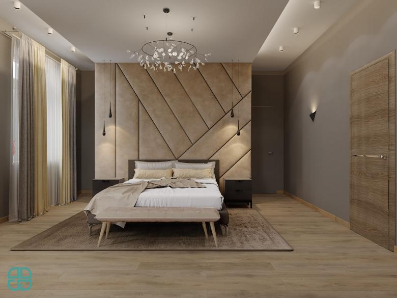 Дизайн интерьера дома мастер спальня