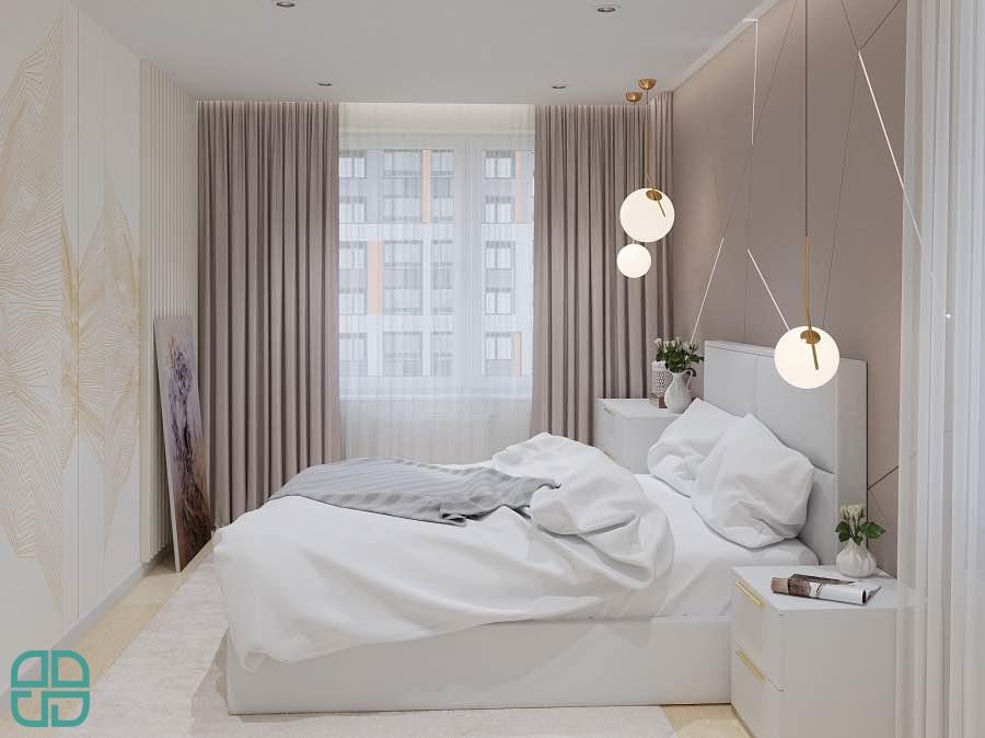 Дизайн квартиры трехкомнатной современной